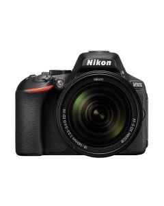 Aparat foto DSLR Nikon D5600, Obiectiv 18-140mm VR, Negru