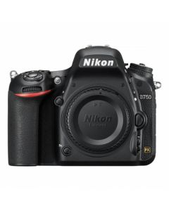 Aparat foto DSLR Nikon D750, 24.3MP, Body, Black