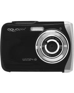 Camera Foto Subacvatica EasyPix W1024 Splash, 16 MPx, Afisare Data, Negru + Bonus Husa