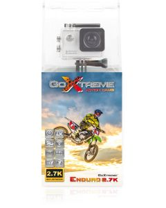 Camera Video Sport GoXtreme ENDURO 4K@30fps, Instantanee 16 MPx, FUNCTIE WebCAM (INCLUDE 8 Accesorii) + Bonus Minitrepied Flexibil