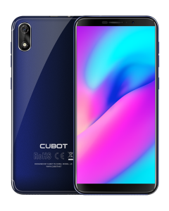 Telefon mobil CUBOT J3 Dual SIM, 5 inch, FaceID, Android GO, Gri + BONUS Husa Silicon si Folie