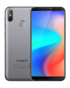 Telefon mobil CUBOT J3 PRO, 4G, 5.5 inch, Amprenta, Android GO, Gri + BONUS Husa Silicon si Folie