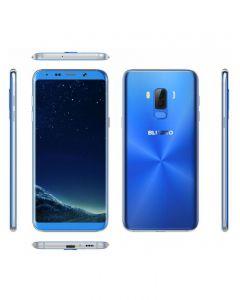 Telefon mobil Bluboo S8 Plus, 6 inch, 64GB, 4G, Blue (include Husa Silicon si Folie Protectie)