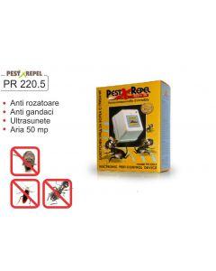 Aparat cu ultrasunete pentru combaterea soarecilor, gandacilor, PR220.5