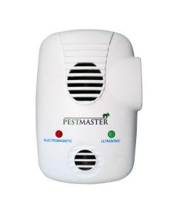 Aparat cu ultrasunete si unde electromagnetice pentru alungat soareci, gandaci si alte insecte, Pestmaster EMG 3 in 1, 200 mp