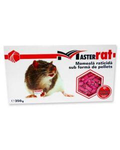 Momeala raticida bricheta MasterRat pellets 350 g
