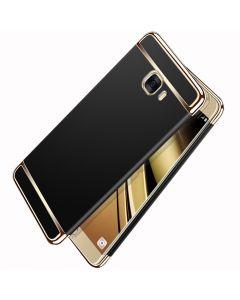 Husa Matte Platinum, Samsung Galaxy C9 Pro. Textura mata, Anti amprenta, Anti alunecare, Ultra Slim. Negru mat