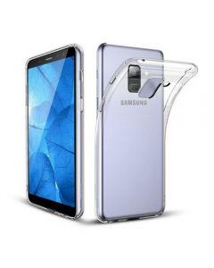 Husa Samsung Galaxy A6 Plus (2018) - Silicon moale TPU, Anti-alunecare, Transparenta