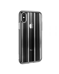 Husa Baseus Star Light, Apple Iphone X, Transparent Black , Tip CCC (Color Change Case)