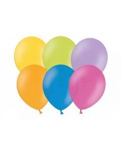 Baloane rotunde standard, 26 cm, multicolore, 100 buc