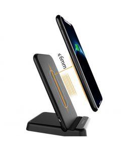 Incarcator WireLess Qi iKaku FAST CHARGE 15W Universal Apple, Samsung, Huawei, LG