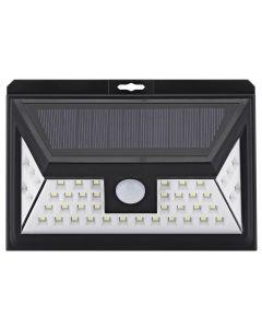 Lampa solara de perete cu senzor de miscare si lumina cu 44 leduri