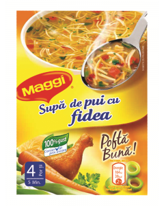 Supa de pui cu fidea Maggi 50g