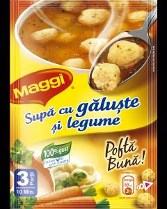 Supa instant cu galuste si legume Maggi 52g