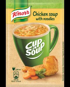 Supa instant Pui cu taitei Knorr Cup a Soup 12g