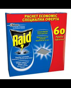 Pastile laminate anti-tantari Raid 60buc