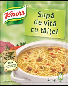 Supa instant de vita cu taitei Knorr 59g