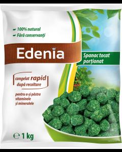 Spanac tocat portii congelat Edenia 1kg