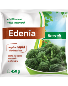 Broccoli 100% natural Edenia 450g
