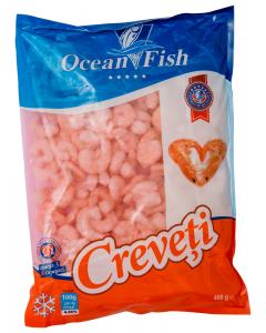 Creveti semipreparati, congelati Ocean Fish 400g