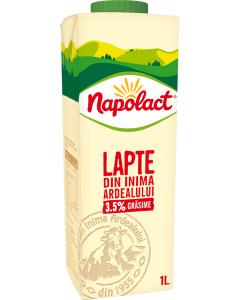 Lapte de vaca integral Napolact 3.5% grasime 1L