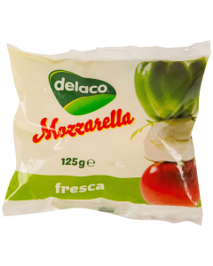 Mozzarella Delaco 125G