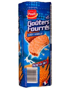 Biscuiti cu crema de vanilie Poult 300g