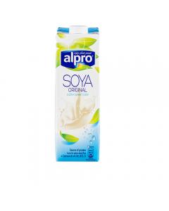 Bautura din soia imbogatit cu calciu si vitamine Alpro Original 1L