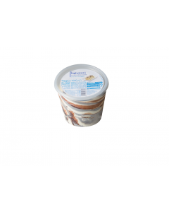 Inghetata cu aroma de vanilie si sos de caramel Alpin 500g