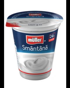 Smantana 24% grasime Muller 150g