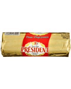 Unt President 82% grasime 500g