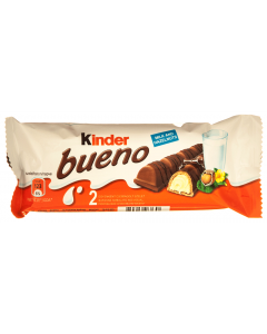 Napolitana in ciocolata cu lapte Kinder Bueno 43g