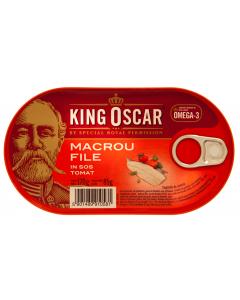 Macrou file in sos tomat King Oscar 170g