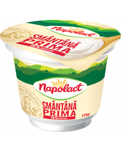 Smantana 25% grasime Napolact Prima 175g