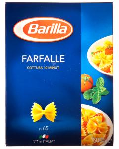 Paste alimentare Barilla Farfalle 500g