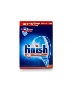 Detergent tablete Calgonit Finish Fizzing Powerball Allin1 84buc
