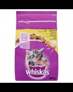 Hrana uscata completa cu pasare pentru pui de pisica Whiskas Junior 300g