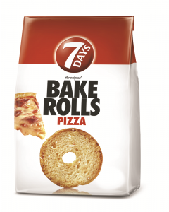 Paine prajita cu pizza Bake Rolls 7Days 70g