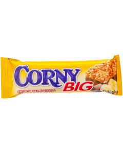 Baton cereale cu ciocolata si banane Corny Big 50g
