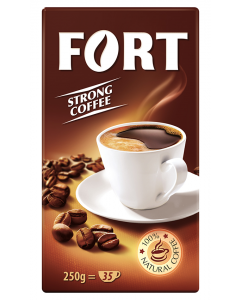 Cafea prajita si macinata Fort 250g