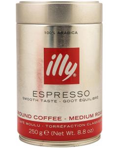Cafea macinata cu cofeina Illy 250g