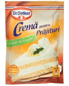 Praf de crema pentru prajituri cu gust de lamaie Dr.Oetker 50g
