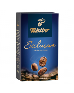 Cafea prajita si macinata Tchibo Exclusive 500g