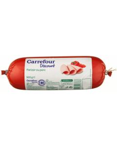 Parizer cu porc Carrefour Discount 500g