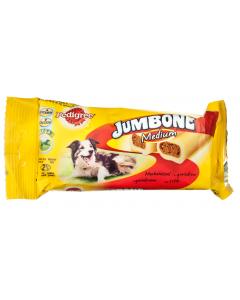 Hrana complementara cu vita pentru caini adulti Pedigree Jumbone Medium 200g