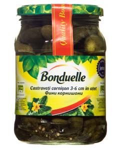 Castraveti cornison in otet Bonduelle 550g