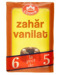Pachet zahar vanilat Cosmin 5+1 48g