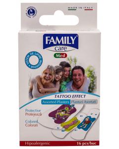 Plasturi copii tatuaj 16 B Family
