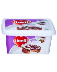 Crema de cacao, alune padure si lapte Fineti 600g