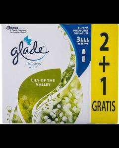 Rezerva Glade microspray lily of the valley 2+1 Gratis 3x10ml